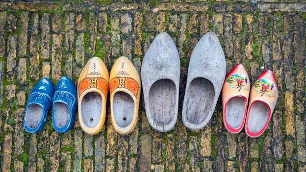 Clogs have been worn for centuries in the Netherlands by farmers, and remain an important part of Dutch heritage (Credit: Credit: George Pachantouris/Getty Images)