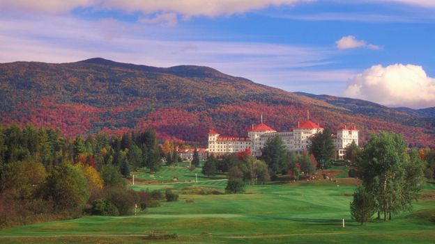 The Mount Washington Hotel is one of New England's few remaining grand hotels (Credit: Credit: Philip Scalia/Alamy)