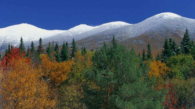 Mount Washington and the Presidential Range are some of the most impressive peaks on the East Coast (Credit: Credit: Comstock/Getty Images)