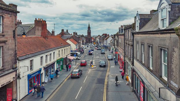 The British town with a third 'nationality'