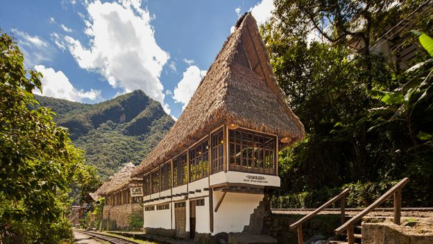 Café Inkaterra is the first restaurant to come into view when arriving at Machu Picchu Pueblo by train (Credit: Credit: Inkaterra Hotels)