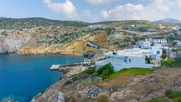 The Greek island luring climate scientists