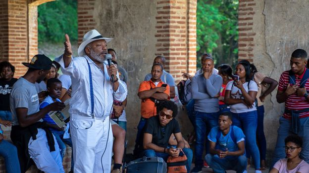 Solano is one of several prominent Dominicans working to illuminate the country's often-overlooked African origins (Credit: Credit: Lebawit Lily Girma)