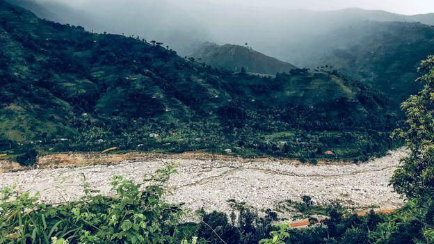 In May 2020, the Nyamwamba River broke its banks (Credit: Credit: Bobby Kolade)