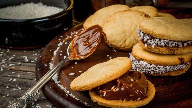 The gooey 'biscake' eaten by millions