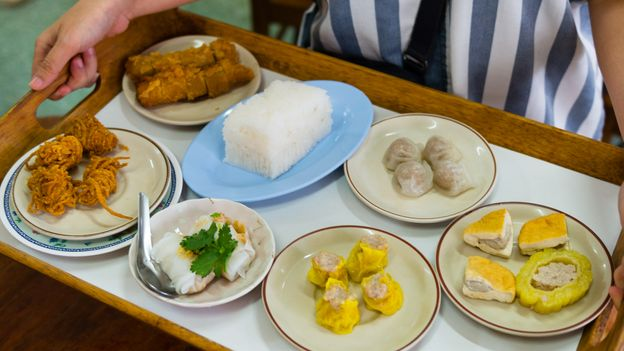 Jip Khao is one of Trang's most longstanding and revered venues for breakfast dim sum (Credit: Credit: Austin Bush)