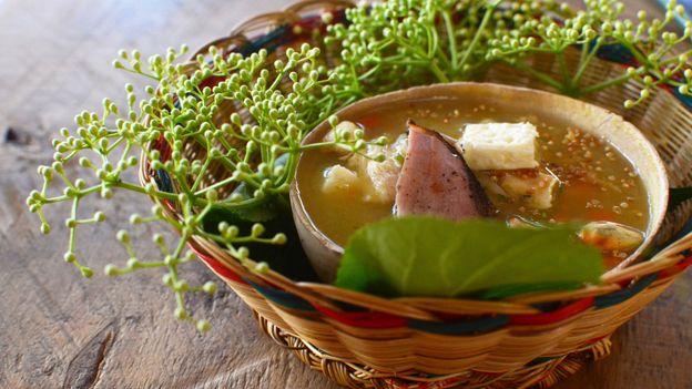 Criollo's restaurant, Naturalia, presents culture through the lens of food (Credit: Credit: Dimitri Selibas)