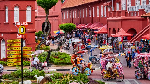 Malacca, once an important trading hub on the spice route, has a history of embracing new languages and cultures (Credit: Credit: Tuul & Bruno Morandi/Getty Images)