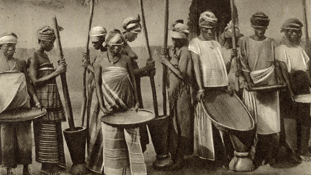 """US colonists purposefully kidnapped Africans from the """"Rice Coast"""" because of their extensive knowledge of rice cultivation (Credit: Credit: Chronicle/Alamy)"""