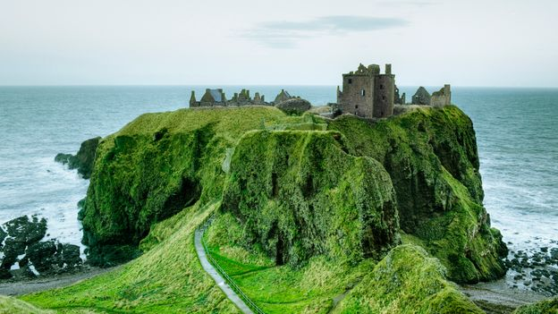 Aberdeenshire's Dunnottar Castle was once home to one of Scotland's most powerful families (Credit: Credit: Silvia Otte/Getty Images)