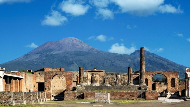 Superheated volcanic gas turned Pompeii into a graveyard in 79 AD (Credit: Credit: Buena Vista Images/Getty Images)