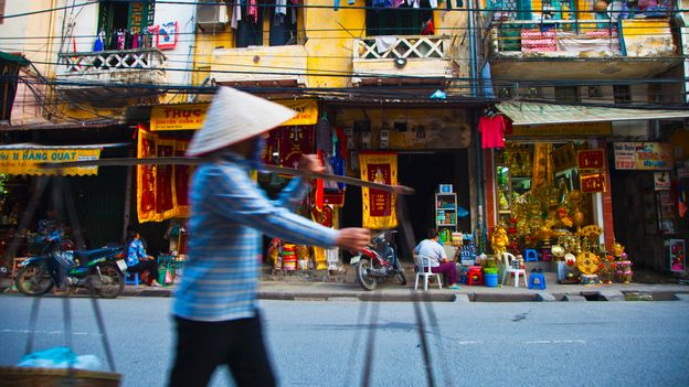 Hanoi's Old Quarter is the traditional heart of the Vietnamese capital (Credit: Credit: Gonzalo Azumendi/Getty Images)