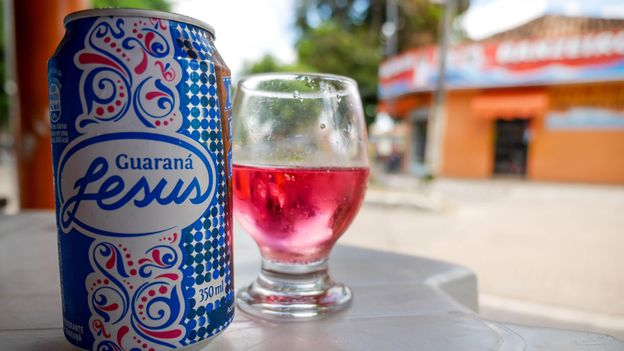 Guaraná contains high levels of caffeine and is often used as an ingredient in fizzy drinks and energy drinks (Credit: Credit: pxl.store/Alamy)
