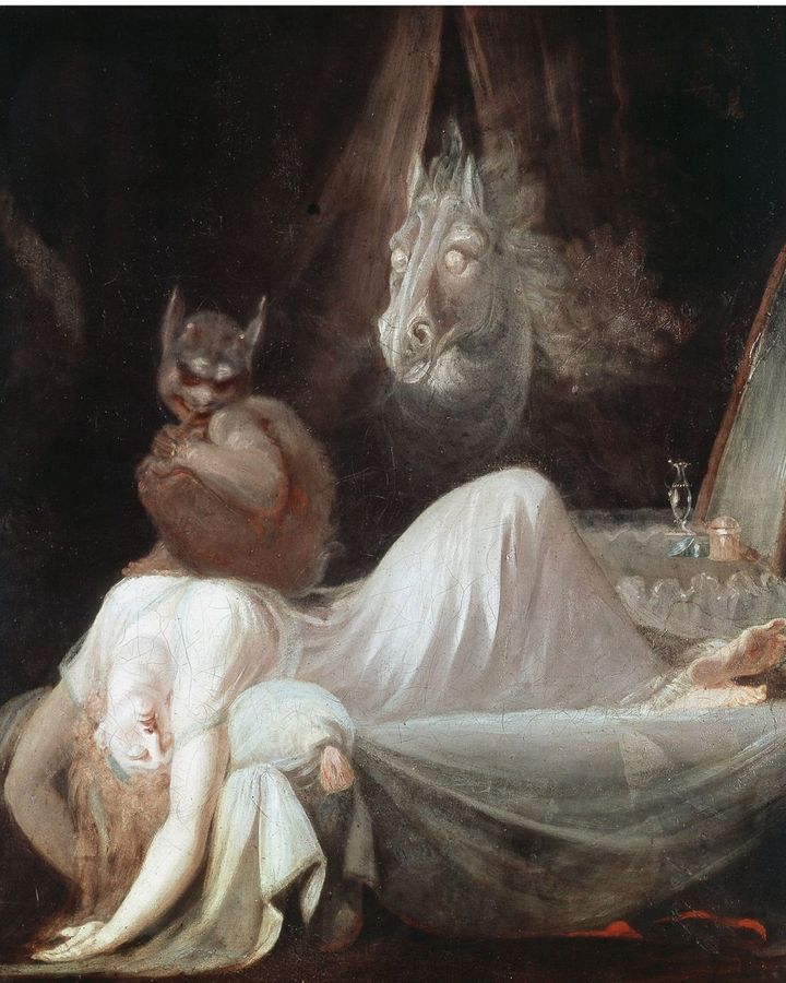 The Nightmare (1781) by Henry Fuseli is one of the most famous depictions of a dream – it continues to defy interpretation (Credit: Getty Images)