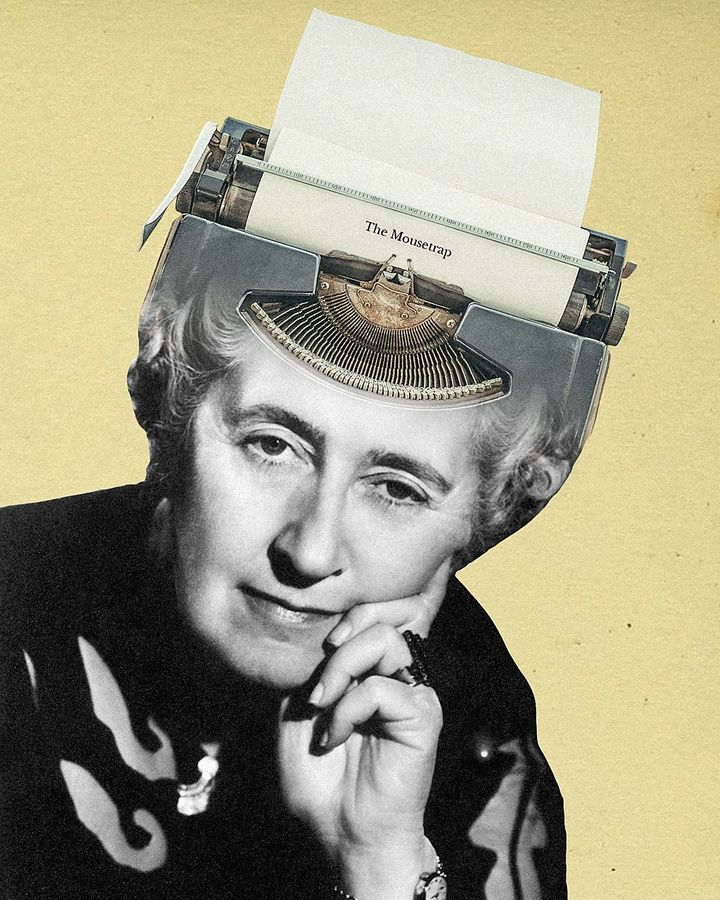 "According to Agatha Christie, ""there's nothing like boredom to make you write"" (Credit: Alamy)"