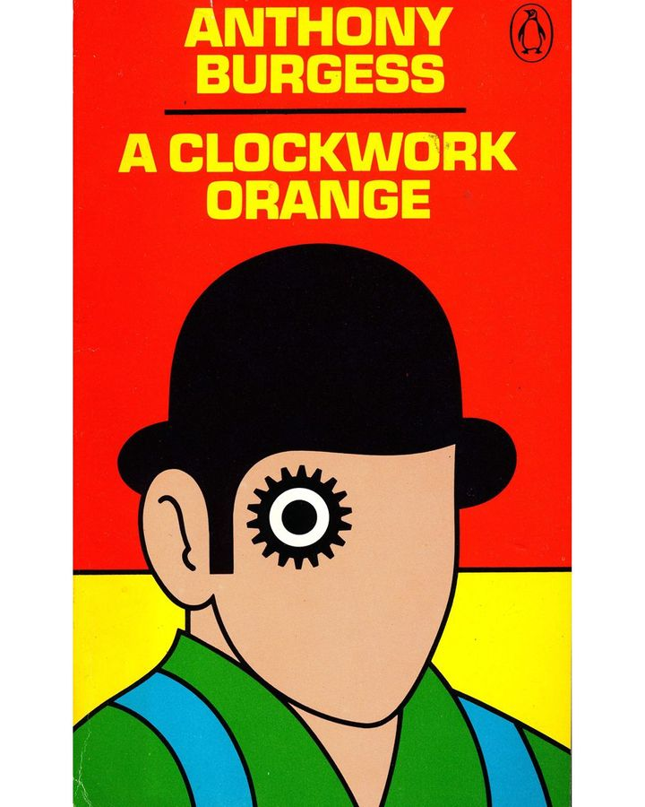 Some books have become indelibly linked with their covers, including A Clockwork Orange by Anthony Burgess (Credit: David Pelham/Penguin Books, 1972)