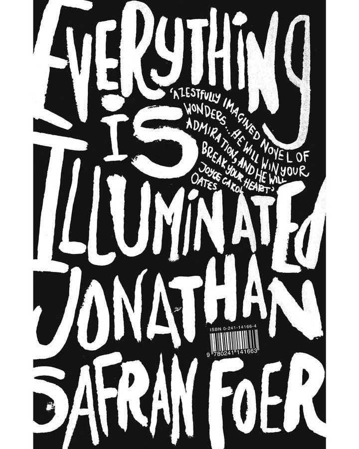 Jonathan Safran Foer tarafından Her Şey Aydınlatıldı, Jon Gray için yaratıcı bir dönüm noktasıydı (Kredi: Jon Gray)