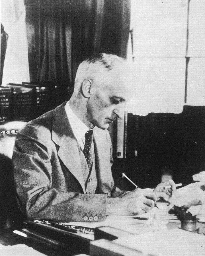 Harvey Cushing had a reputation as a hard taskmaster, but his brilliance transformed hospital care (Credit: Getty Images)