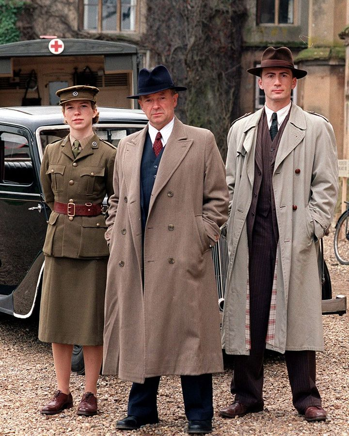 The show's central crime-busting trio are Detective Chief Superintendent Christopher Foyle, Sergeant Paul Milner and police driver Samantha Stewart (Credit: Shutterstock)