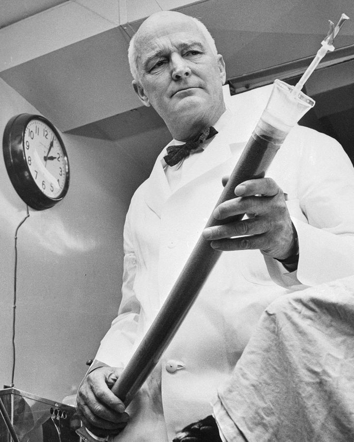 John Gibbon led efforts to develop a heart-lung machine (Credit: Getty Images)