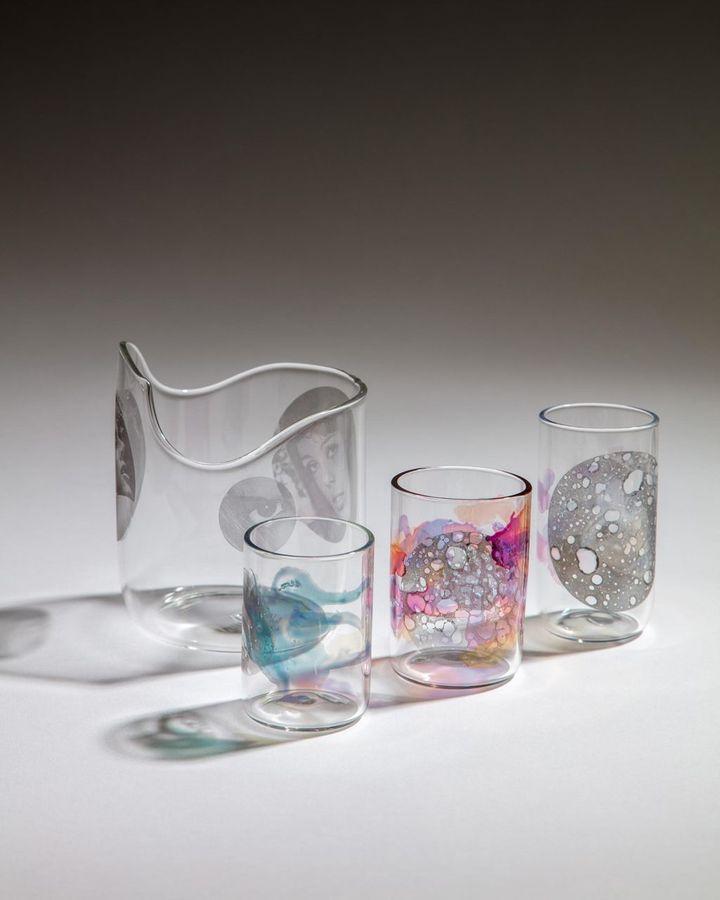 German-born glass artist Jochen Holz uses a technique called 'lamp-working' (Credit: Jochen Holz)