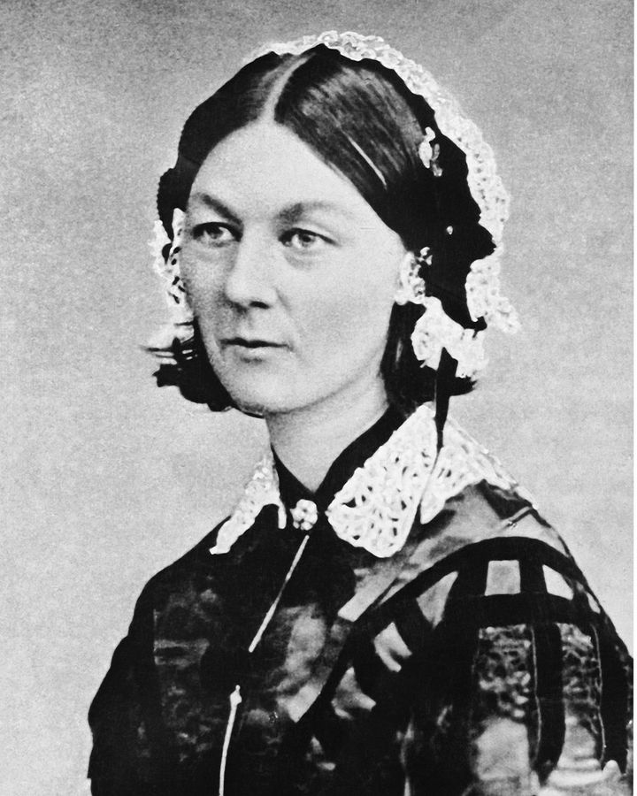 Florence Nightingale's insistence on clean bedding and handwashing vastly reduced deaths in military hospitals (Credit: Getty Images)