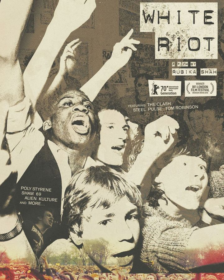 The new documentary film White Riot takes its name from the explosive 1977 single by The Clash (Credit: Syd Sheldon/ White Riot)