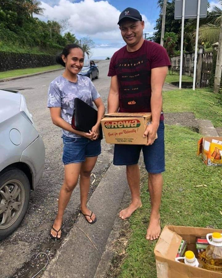 More than 20% of Fiji's population has joined the Barter for a Better Fiji group to trade goods (Credit: Marlene Dutta)