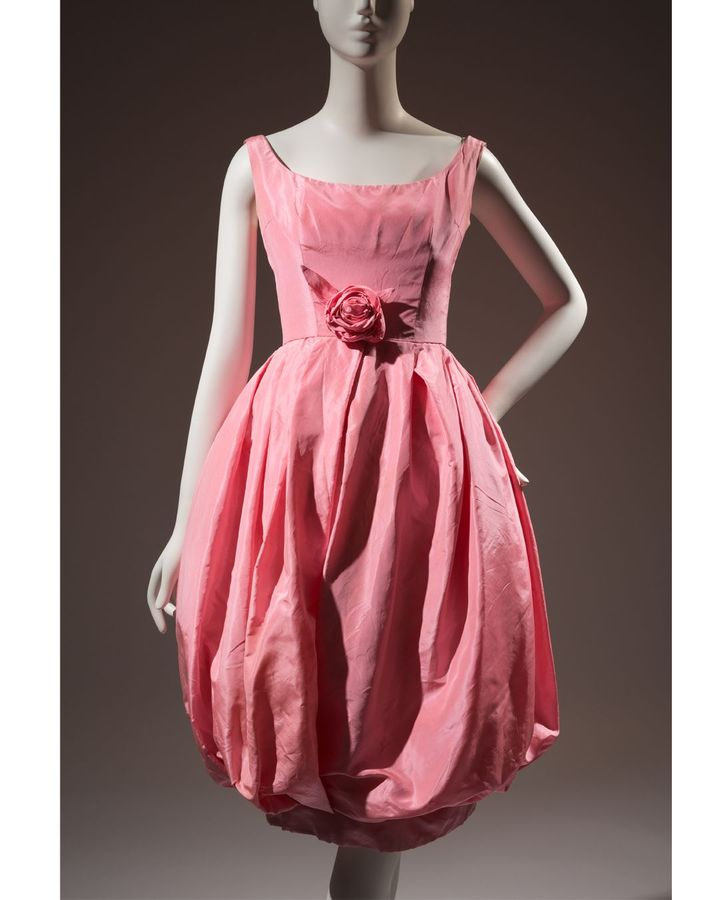 Ravishing: The Rose in Fashion features among its exhibits a Dior silk cocktail dress from 1960 (Credit: Museum at FIT)