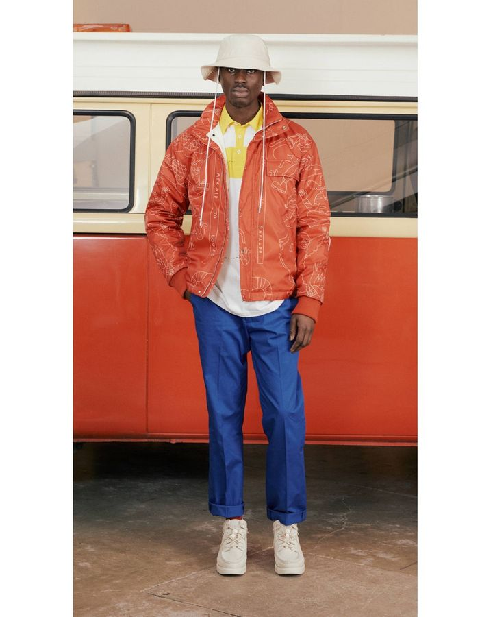 With their casual, comfy designs, menswear brand Band of Outsiders appeal to current nesting instincts (Credit: Band of Outsiders)