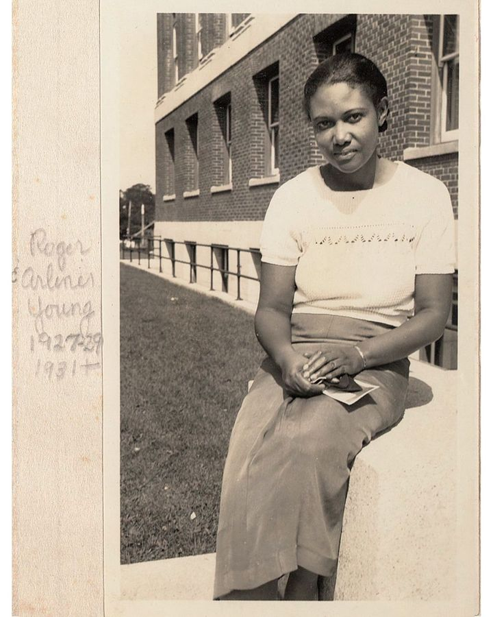 Roger Arliner Young shown around 1927-29 or later, just as her academic career was taking off (Credit: Marine Biological Laboratory Archives)