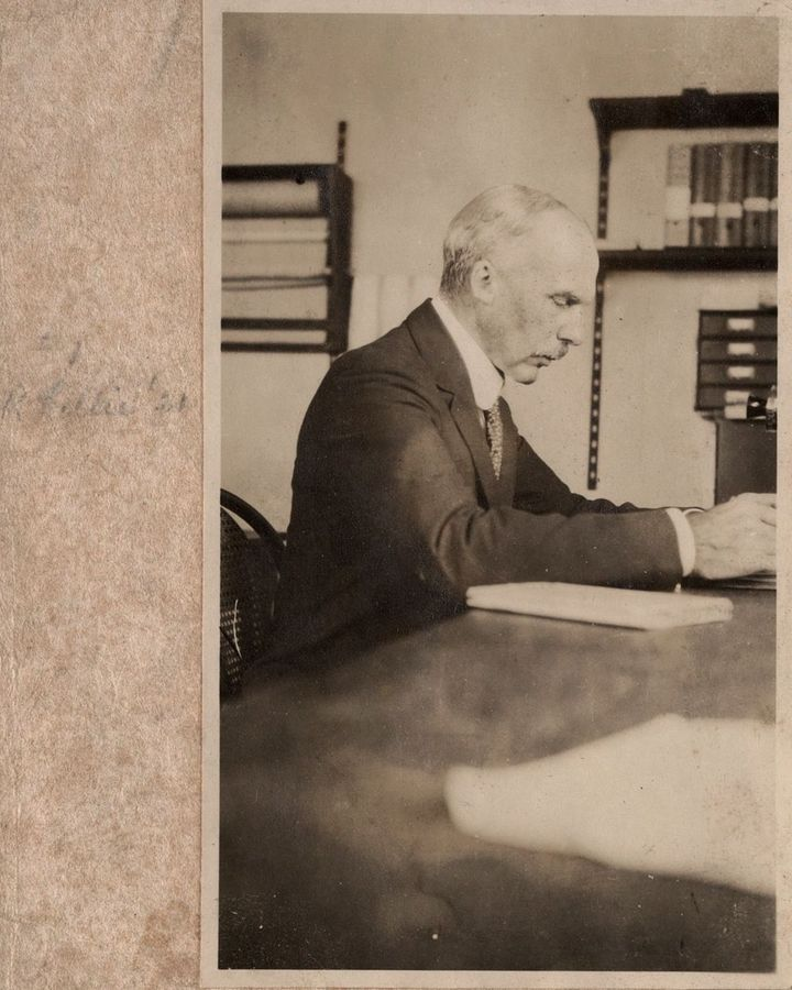 Frank Rattray Lillie was Young's advisor – and an advocate of eugenics and of the idea that people of colour were inferior  (Credit: Marine Biological Laboratory Archives)