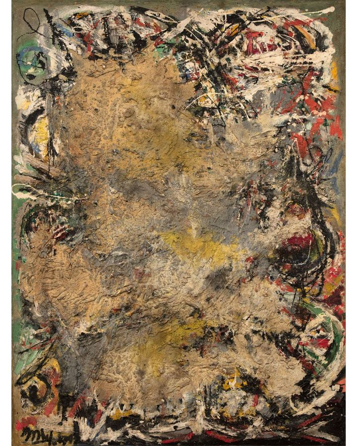 Arshile Gorky has been praised as one of the most influential 20th-Century painters in the US – but West (pictured: Nihilism, 1949) has largely been overlooked