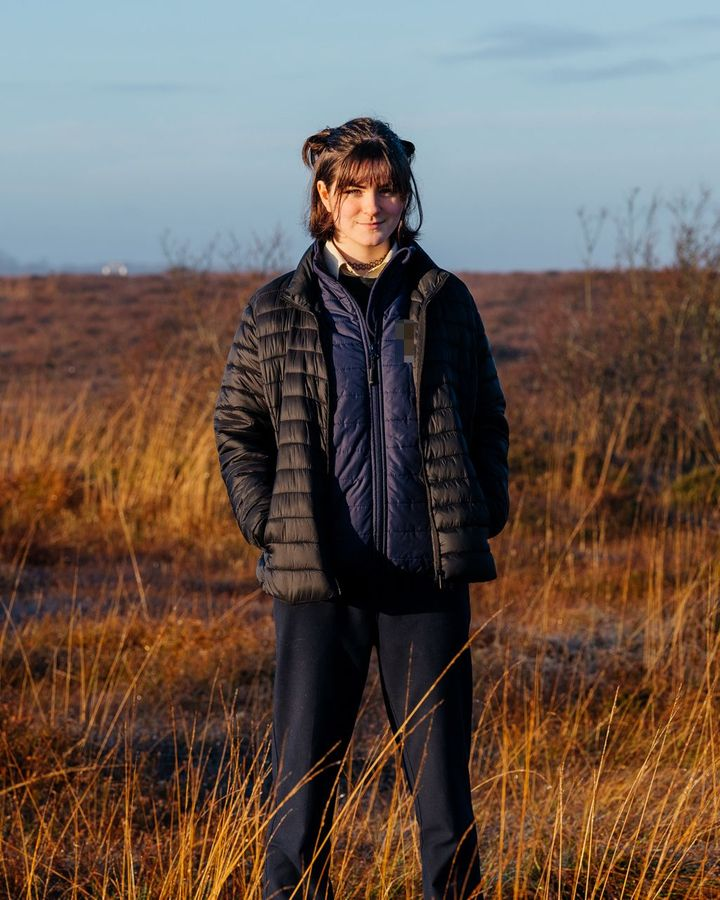 Young campaigners of the Irish Midlands are pushing for a future for Ireland's peat bogs beyond fuel (Credit: Paula Nolan)