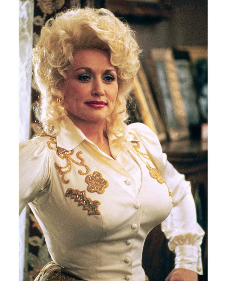 """Parton combines a love of glamour with an ability to skewer herself; she has said """"I look fake, but my world is real to me"""" (Credit: Alamy)"""