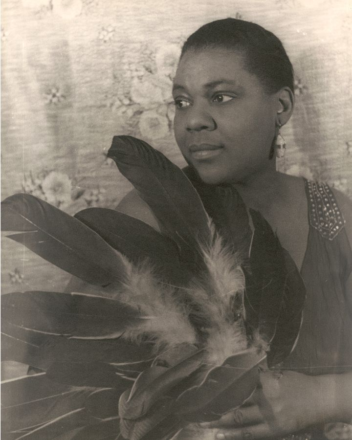 "The scholar Angela Davis calls Bessie Smith ""the first real 'superstar' in African-American popular culture"" (Credit: Getty Images)"