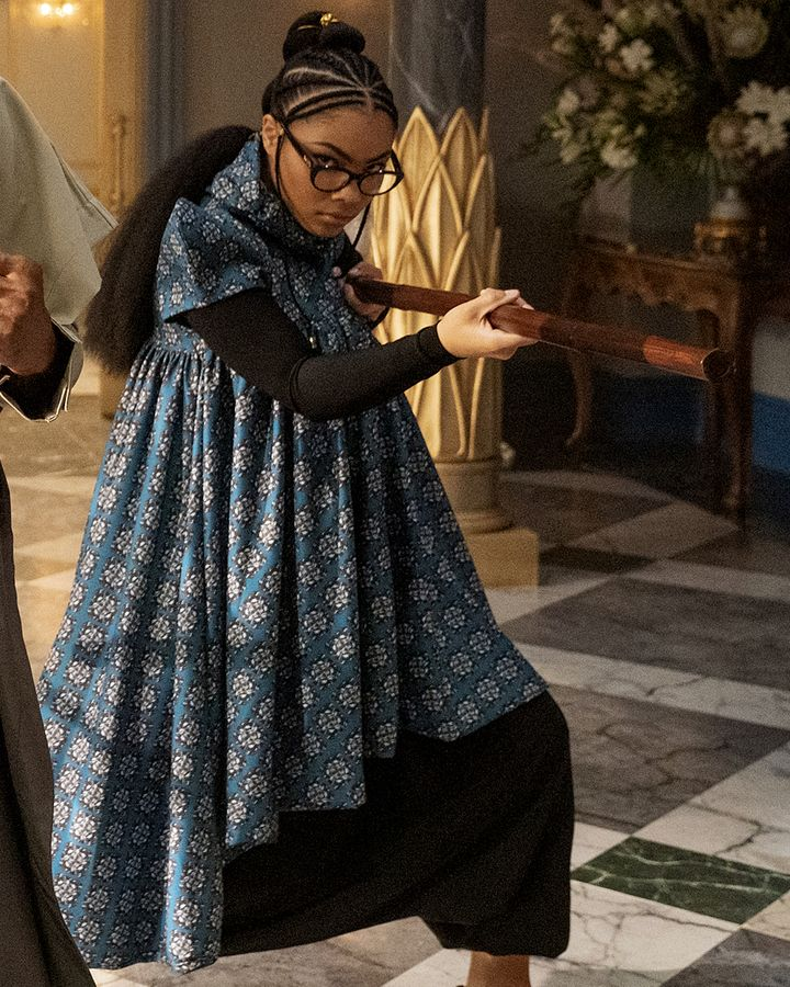 The recent film Coming 2 America showcases the work of innovative African designers (Credit: Amazon Studios)
