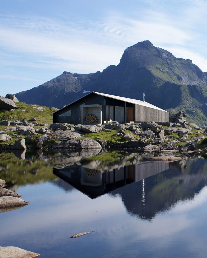Now, 60 years on, simple, prefabricated cabins set in stunning natural beauty are once again in demand (Snøhetta)