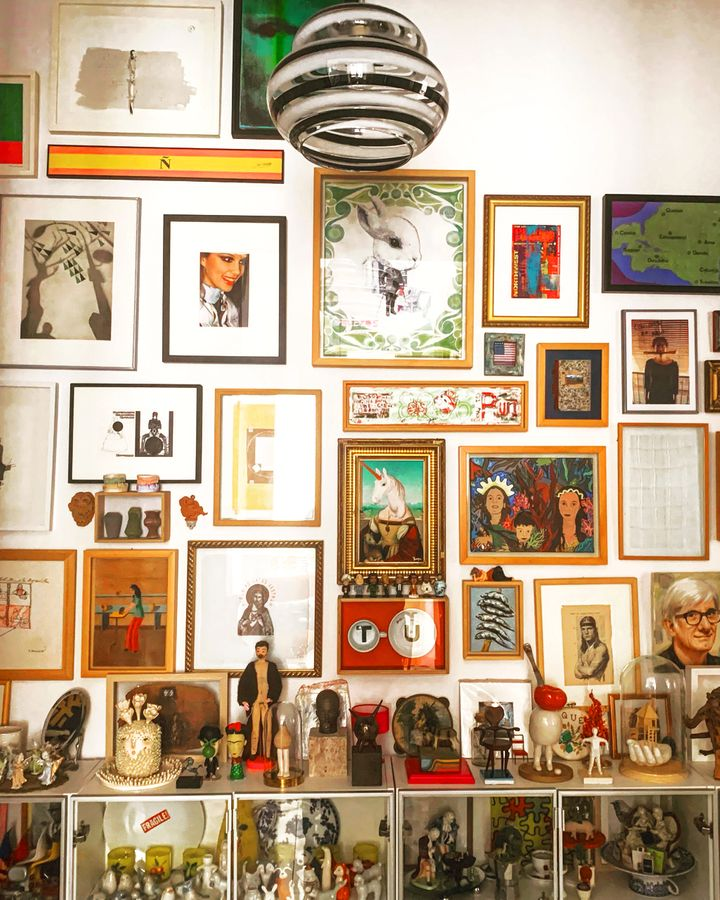Artist Juanjo Fuentes's home in Spain is full of interesting and beautiful curios (Credit: Juanjo Fuentes)