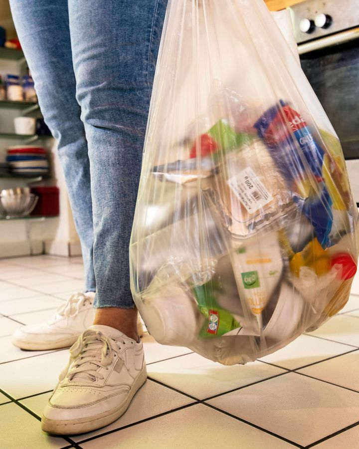 Some plastics that could be recycled end up in landfill because of poor facilities, or confusion about what is and isn't recyclable (Credit: Alamy)