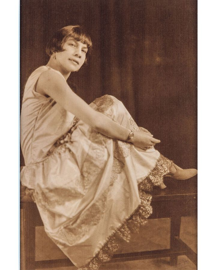 Florestine Perrault Collins was a pioneering studio photographer, and created portraits including this early 1920s image of Mae Fuller (Credit: Collection of Dr Arthe A Anthony)