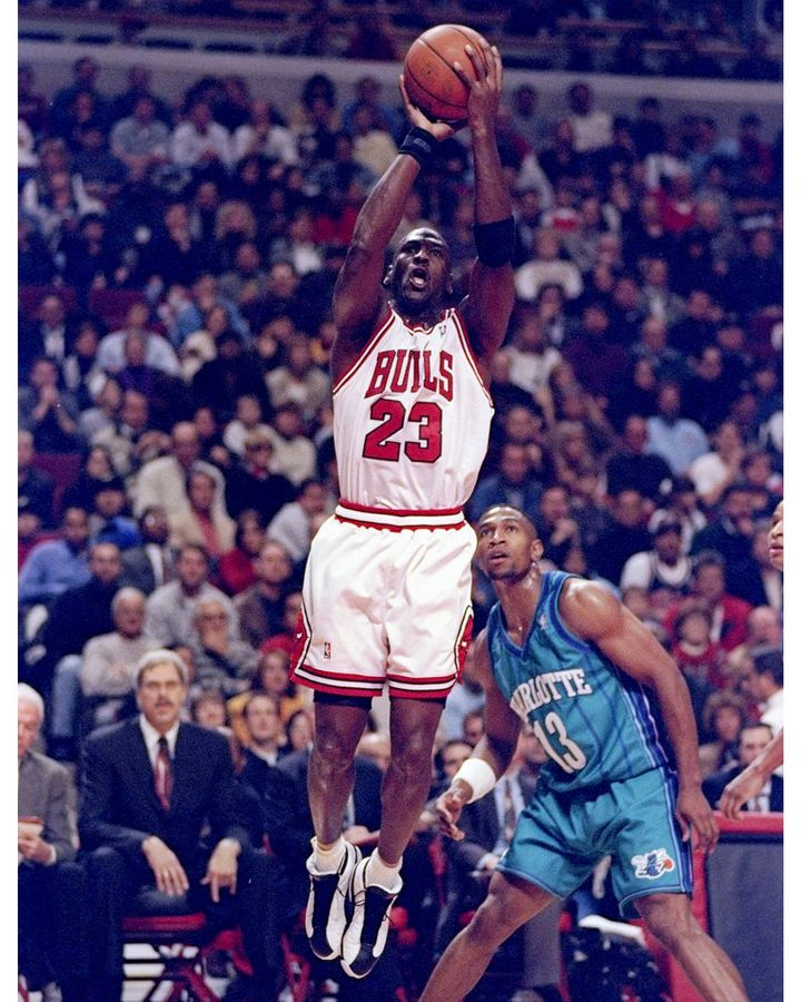 The original Air Jordan sneakers were created exclusively for star basketball player Michael Jordan (Credit: Getty Images)
