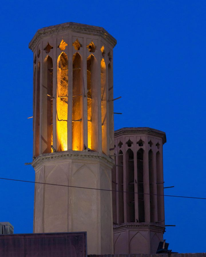 The wind catchers of Iran have inspired modern designs in Europe, the US and elsewhere, as architects turn towards passive forms of cooling (Credit: Alamy)