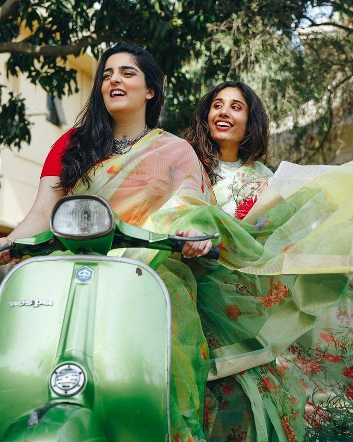 The Saari Girl is a Pakistani brand – it is keen to 'reclaim heritage' and combat stereotypes arounds the sari (Credit: The Saari Girl)