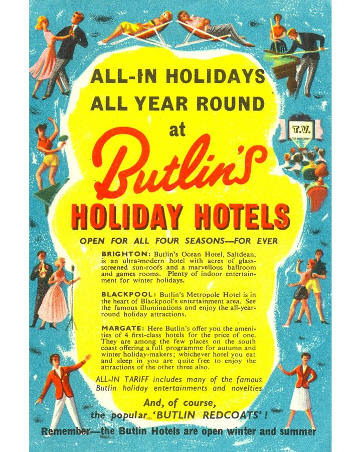 The roots of the TV talent show can be found in the contests held at holiday camps like Butlins in the UK (Credit: Alamy)