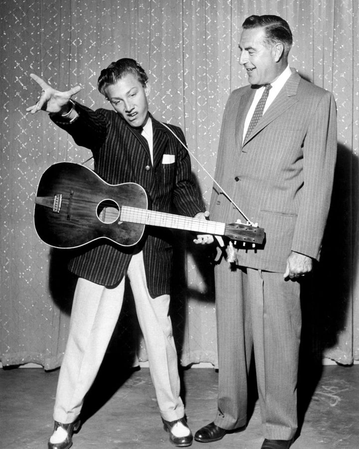 The Original Amateur Hour – which started on the radio but was then adapted for TV – was one of the US's first TV talent shows (Credit: Alamy)