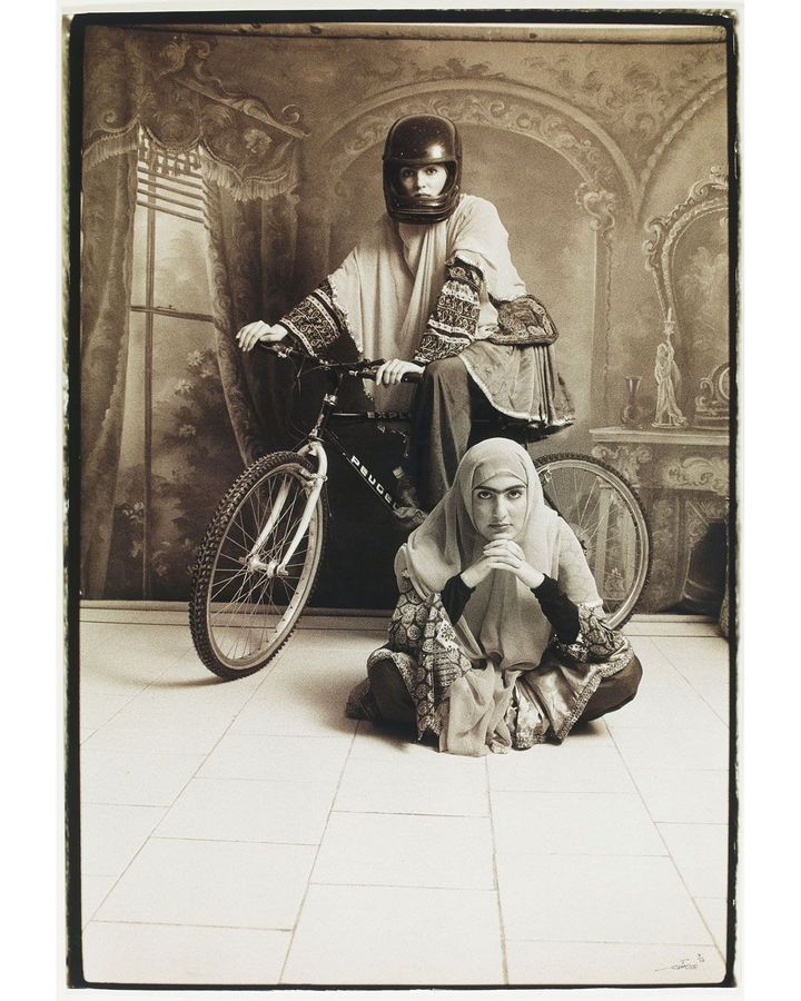 Untitled #10 from the Qajar series, 1998, by Shadi Gadirian (Credit: Mohammed Afkhami Foundation)