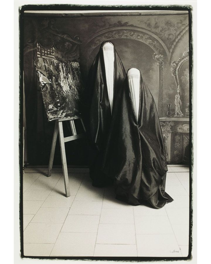 Untitled #11 from the Qajar series, 1998, by Shadi Gadirian (Credit: Mohammed Afkhami Foundation)