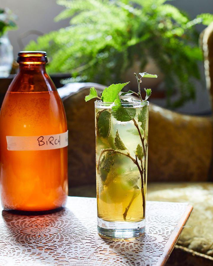 Slippurinn incorporates Birkir (birch liqueur) onto its dishes and drinks (Credit: Karl Petersson)