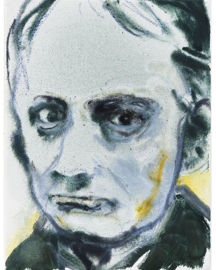 Charles Baudelaire (2020) by Marlene Dumas (Credit: Marlene Dumas/Photo: Peter Cox, Eindhoven)
